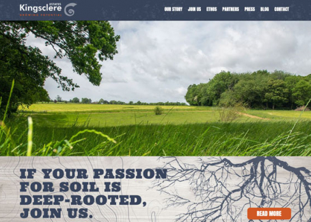 Kingsclere Estates new website
