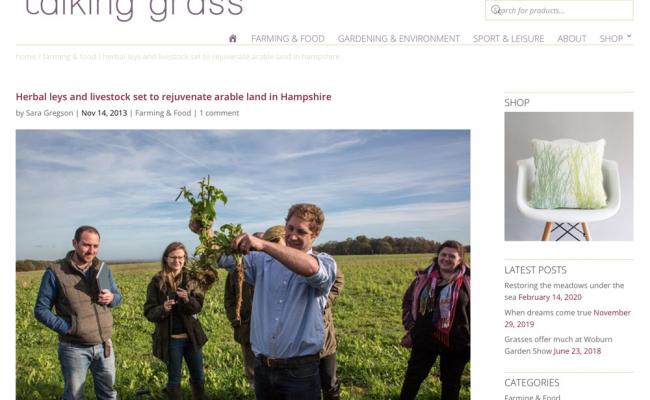 Talking Grass and Tim May talk Herbal Lays