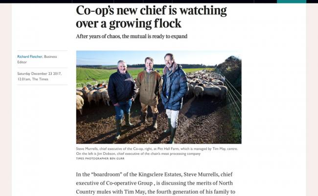 Times article on Kingsclere Estates