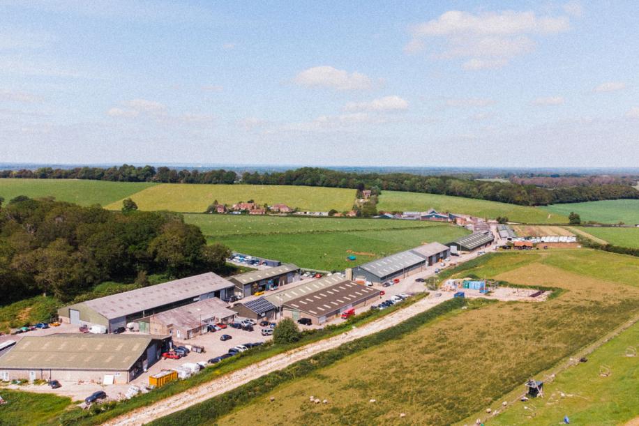 Kingsclere Estates pitch up landscape